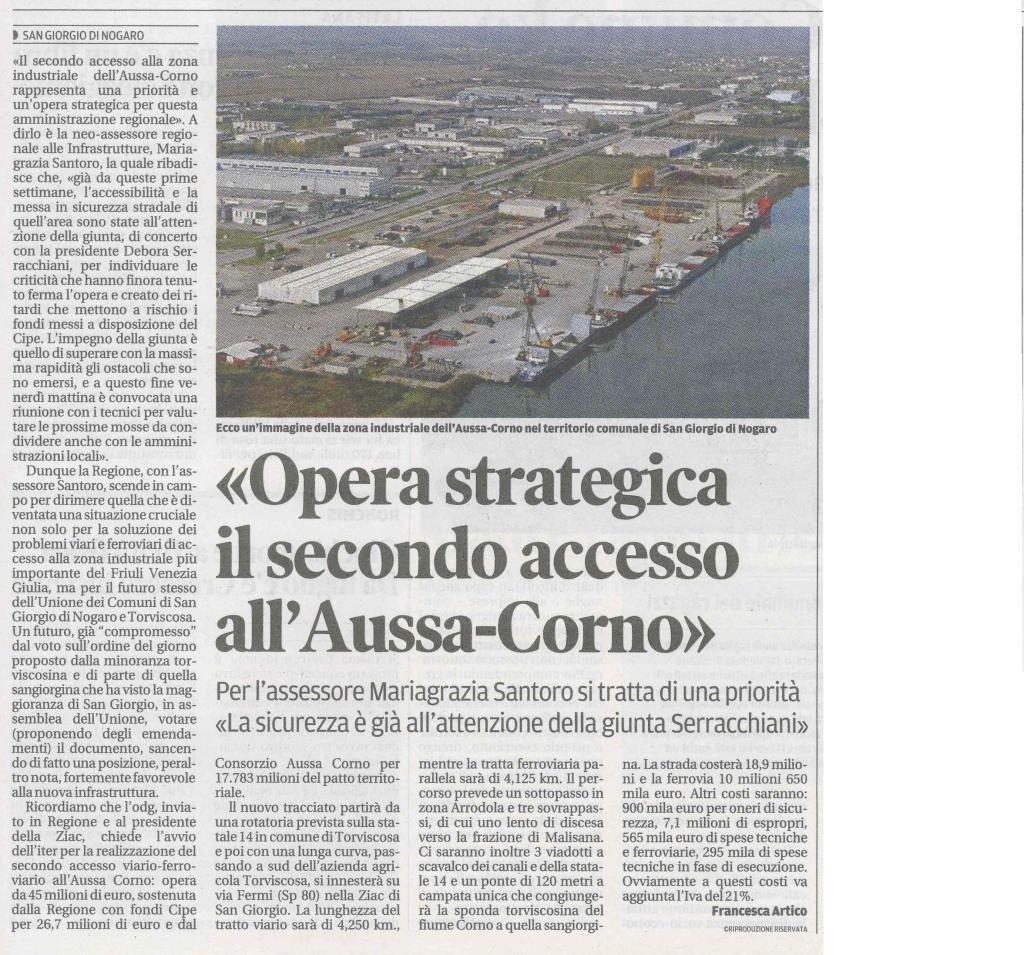 Rassegna stampa 12.06.2013 (1) Messaggero Veneto