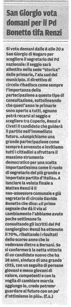 Messaggero Veneto 07.12.2013