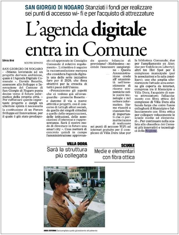 Il Gazzettino 26.08.2014