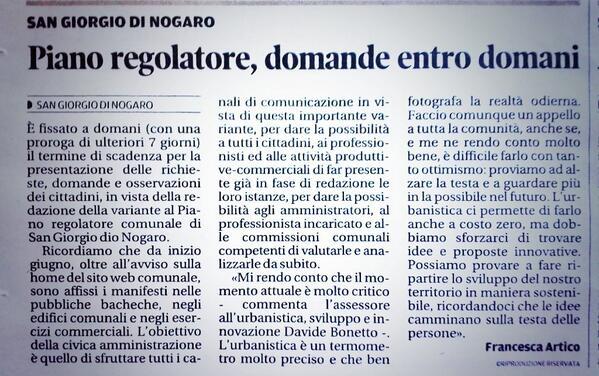 Messaggero Veneto del 03.07.2014
