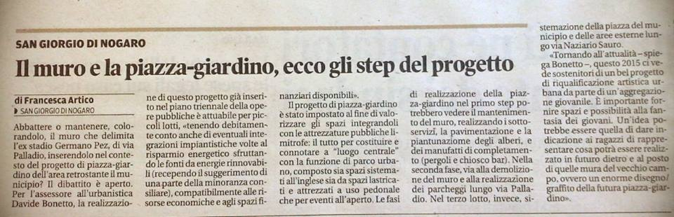 Messaggero Veneto 24.05.2015