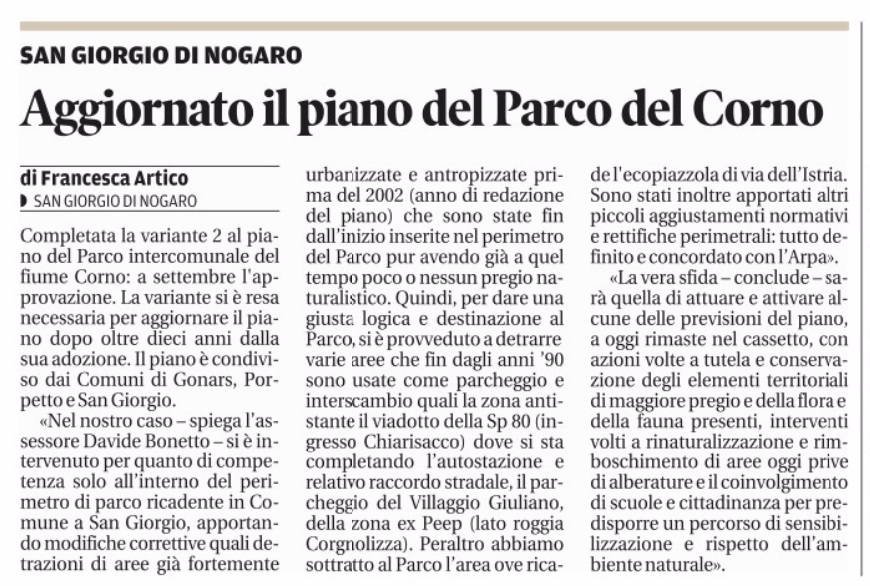 Messaggero Veneto 07.08.2015
