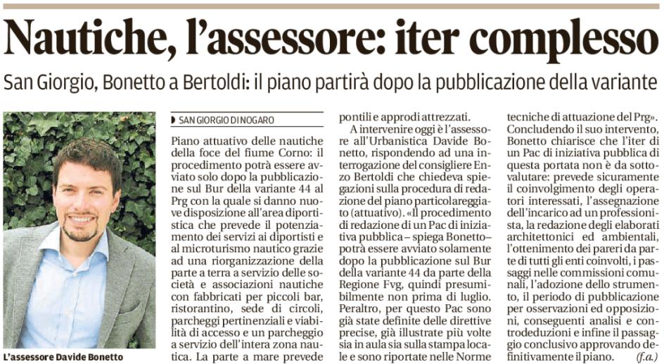 Messaggero Veneto 12.05.2017
